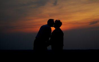 Un sărut din iubire