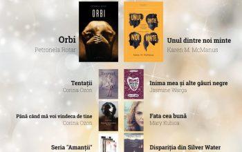Cele mai citite cărți ale editurii Herg Benet în 2017 – Comunicat