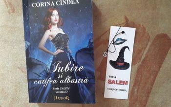 Iubire și catifea albastră – Corina Cîndea (Seria Salem, vol. 3)