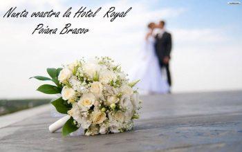 Hai să ne căsătorim! Vreau o nuntă perfectă, la Royal Boutique Hotel Poiana Brașov!