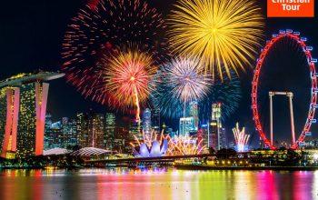 Revelion însorit în Singapore cu Christian Tour