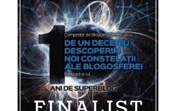 Gânduri la final de SuperBlog 2018