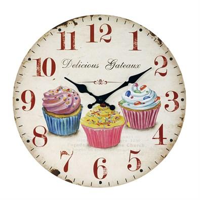 ceas-de-perete-cupcake-diam.-34-cm-detail