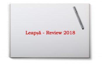 Leapșă – Review 2018