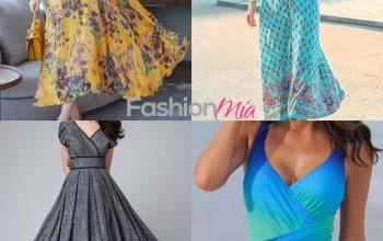 Rochia maxi și costumul de baie – must-have în această vară