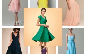 7 rochii de seară pentru domnișoare de onoare