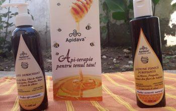 Îngrijirea tenului se face cu Apidava Cosmetic Line
