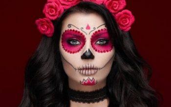 Cel mai îngrozitor machiaj de Halloween realizat simplu și fără prea mulți bani