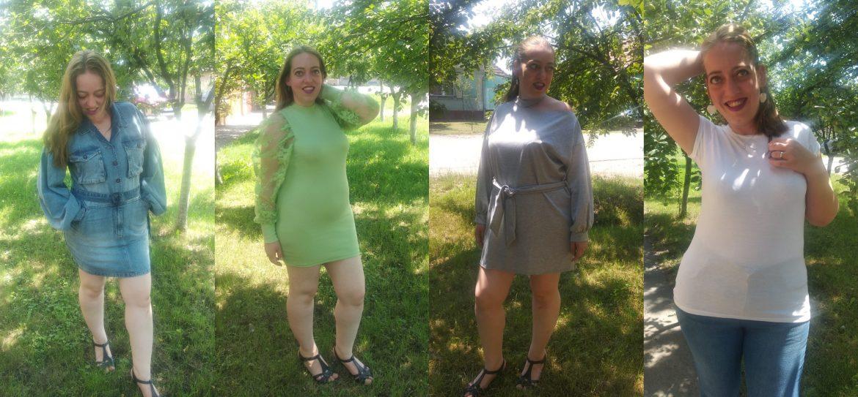 3 rochii, un tricou și o peripeție cu Femme Luxe