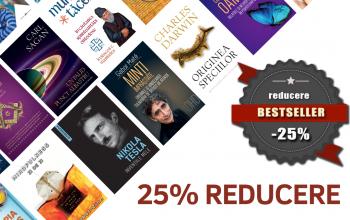 Top Bestsellers cu 25% reducere Editura Herald