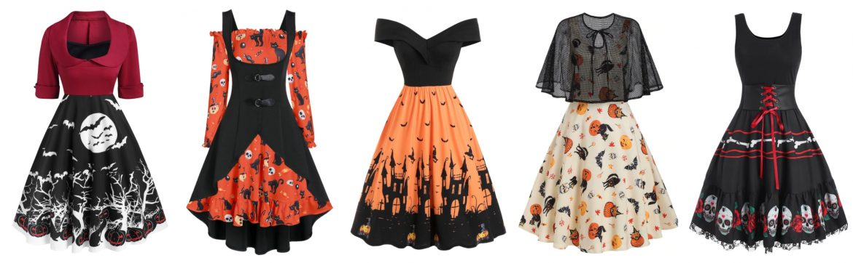 5 rochii de Halloween pe care le vreau în garderobă