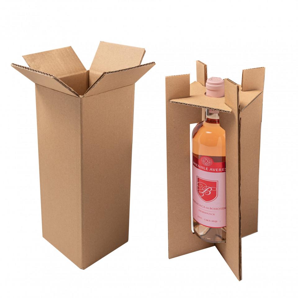 Alege proprietatile rezistente ale cartonului pentru a transporta sticle de vin sau mancare la domiciliu!