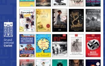 Comunicat de presă TOP 20 cele mai citite cărți în 2020, de la Editura Corint