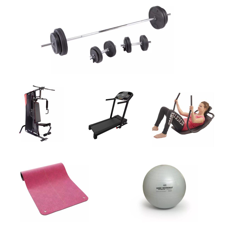 De unde luăm articole fitness pentru acasă?