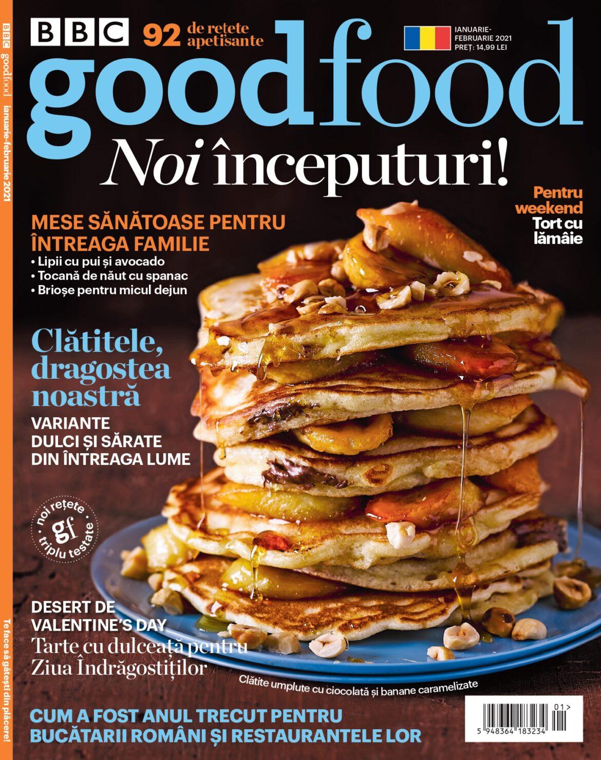 Revista BBC Good Food revine în România