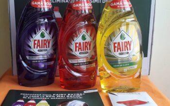 Fairy Extra+ face mai plăcut spălatul vaselor
