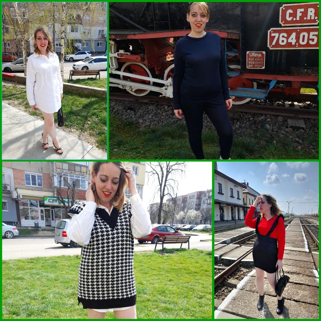 Primăvara a venit cu haine de la Femme Luxe
