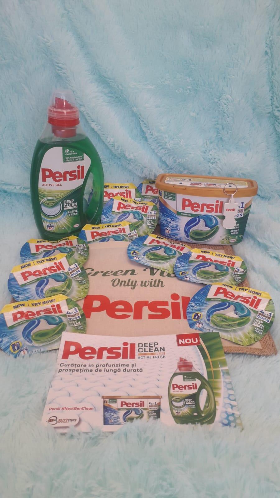Persil Deep Clean Plus Active Fresh – un detergent care te face să-ți dorești să speli rufele mai des