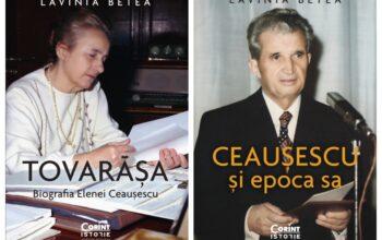 Editura Corint publică două noi volume semnate de Lavinia Betea – Comunicat de presă